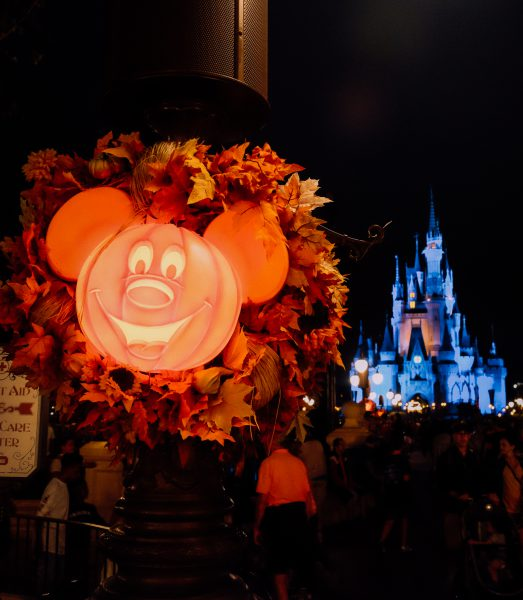 Disney World Orlando on Halloween