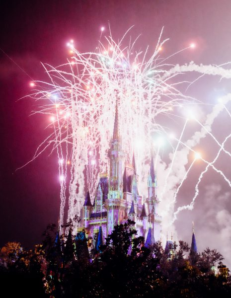 Fireworks at Disney World Orlando