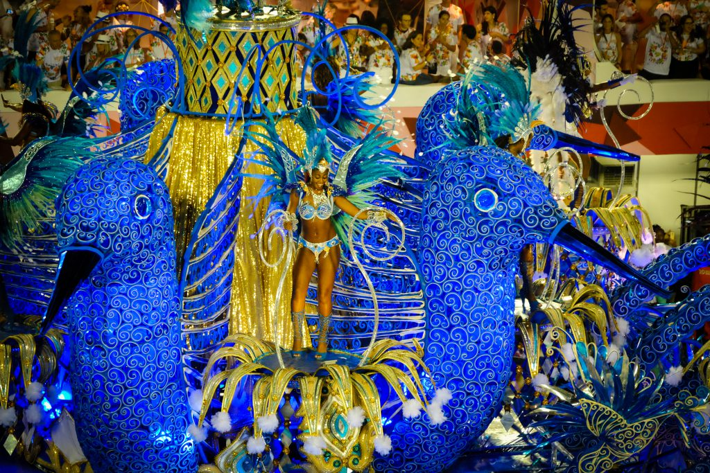 Carnival in Rio de Janeiro, 2016