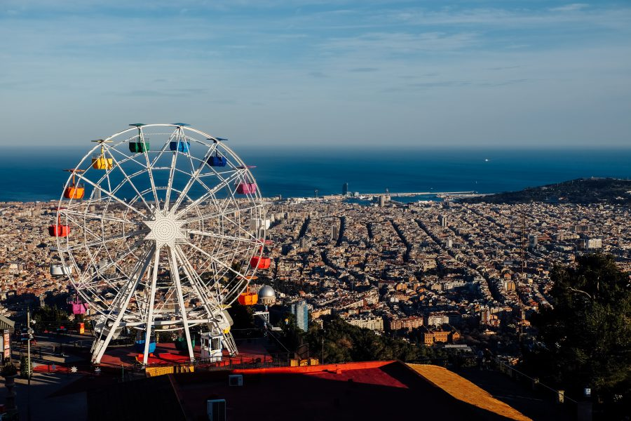 Parque de Atracciones Tibidabo in Barcelona