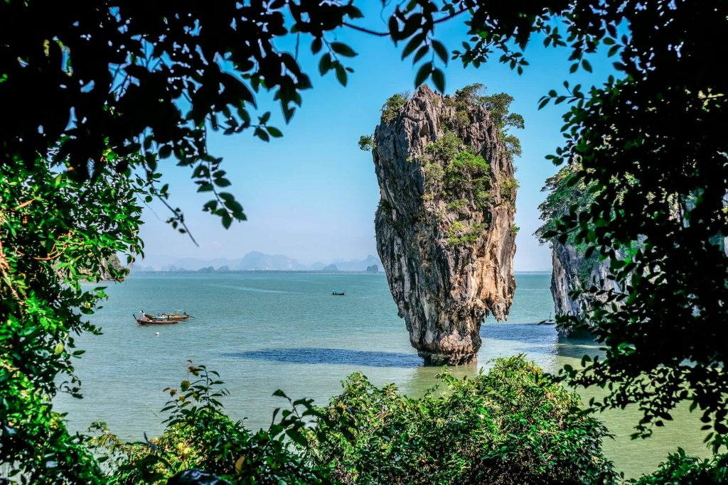 James Bond Island near Phuket, Thailand, 2015. © Max Grev