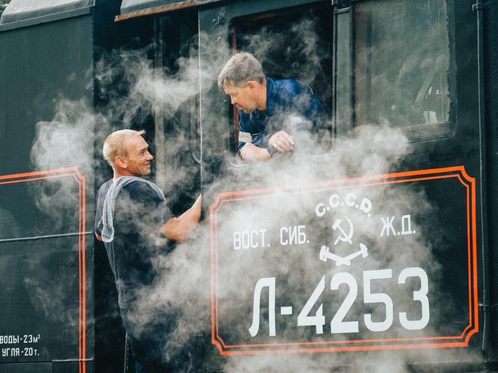 The Circum-Baikal railway, Baikal Lake, Siberia, Russia, 2016. © Max Grev